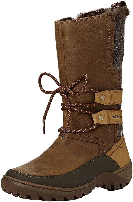 7258300afb002 Merrell Women's Sylva Tall Waterproof Snow Boot: Amazon.ca: Shoes ...