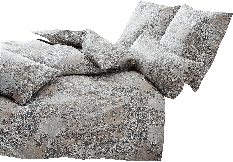 Estella Mako-Interlock-Jersey Bettwäsche 6217-340 Nougat 135x200 cm + 80x80 cm