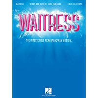 Waitress Songbook: The Irresistible New Broadway Musical book cover