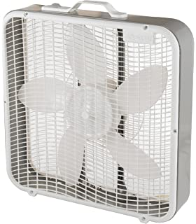 com lasko inch premium box fan speed home aerospeed 20 inch 3 speed premium box fan energy efficient design and carrying
