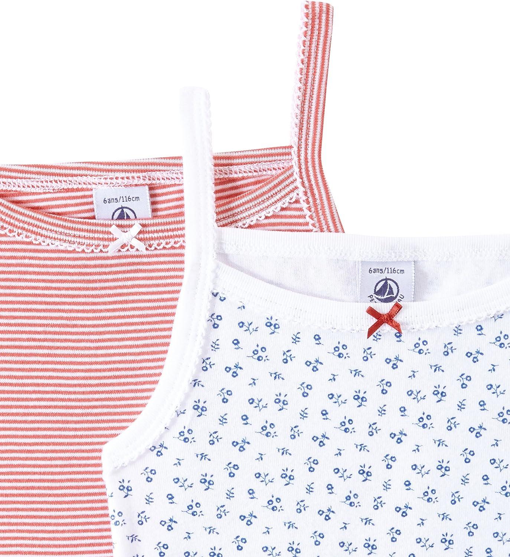 2er Pack Petit Bateau M/ädchen Unterhemd