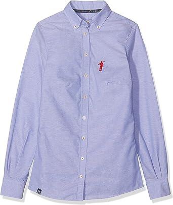 POLO CLUB Camisa Mujer Miss Rigby Oxford Azul XS: Amazon.es: Ropa y accesorios