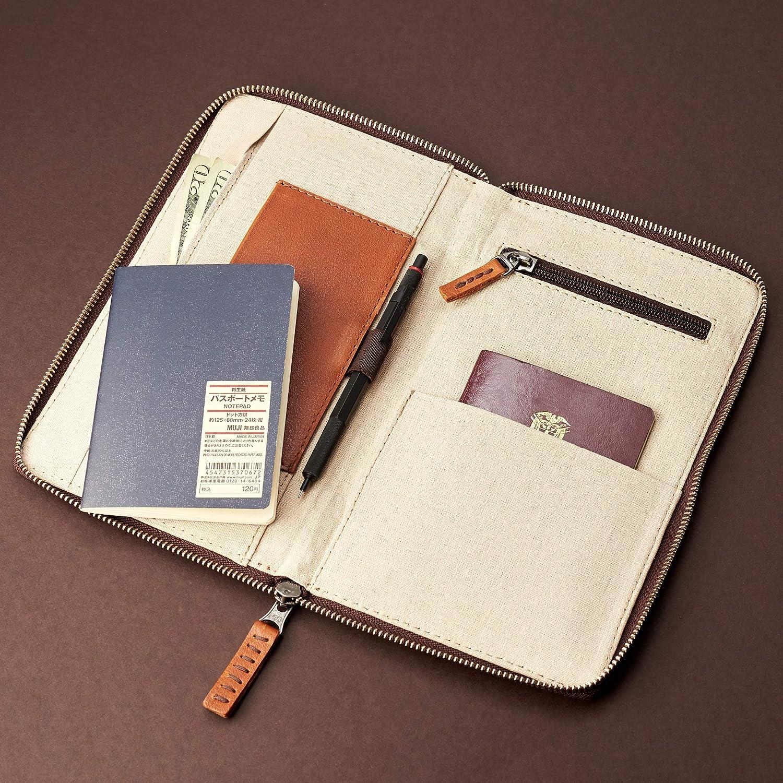 1632b72bcb23 Amazon.com: Capra Leather Leather Travel Document Organizer for Men ...