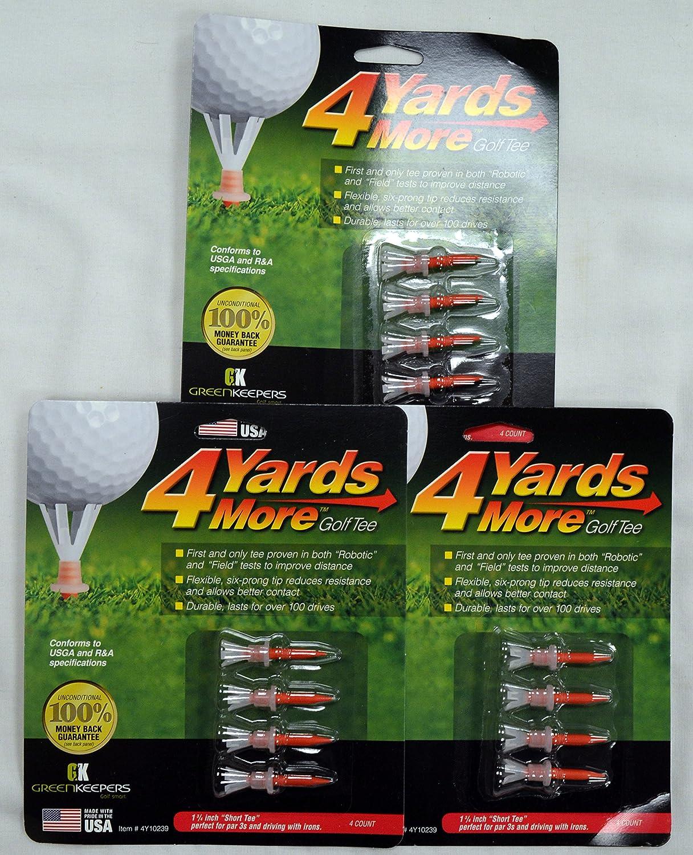4 Yards More Golf Tees 1 3 / 4