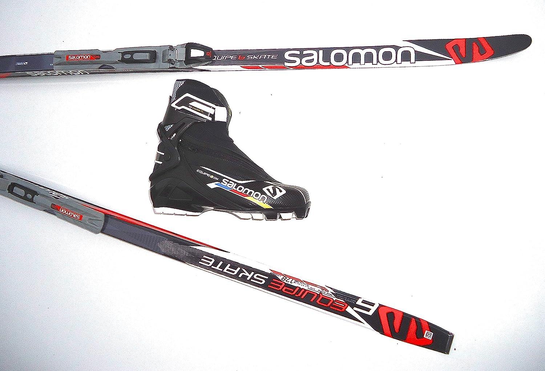 Langlaufski Skatingset Salomon Equipe 6 Skate 191 cm mit