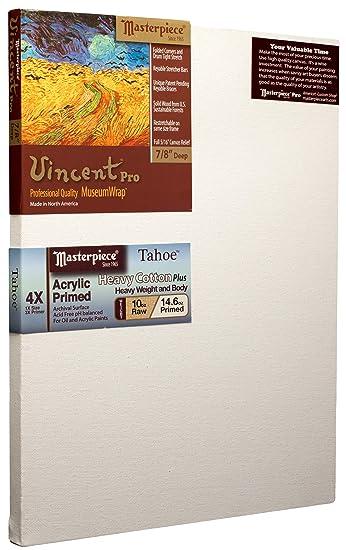 "10 x 16 Inch Acrylic Primed Masterpiece Vincent Museum Wrap 7//8/"" Deep"