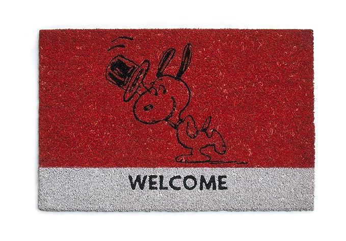 45 opinioni per Excelsa 50447 Zerbino Snoopy, Legno_Composito, Rosso, 40 x 60 cm