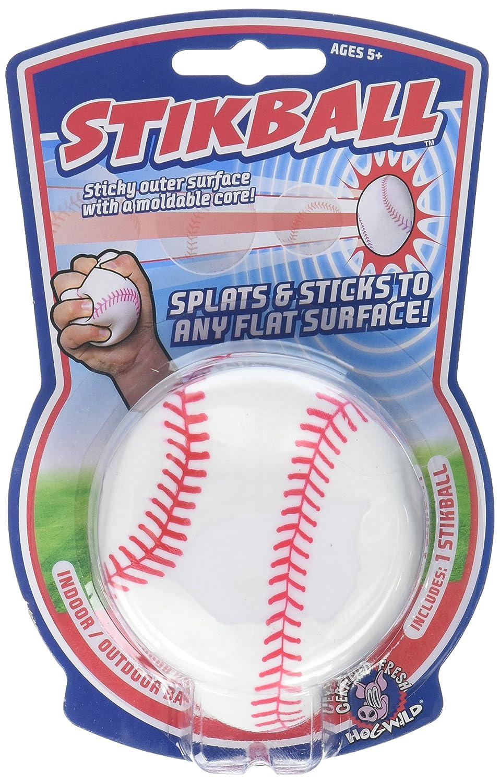 Hog Wild Splat & Stick Stikball Baseball 53402