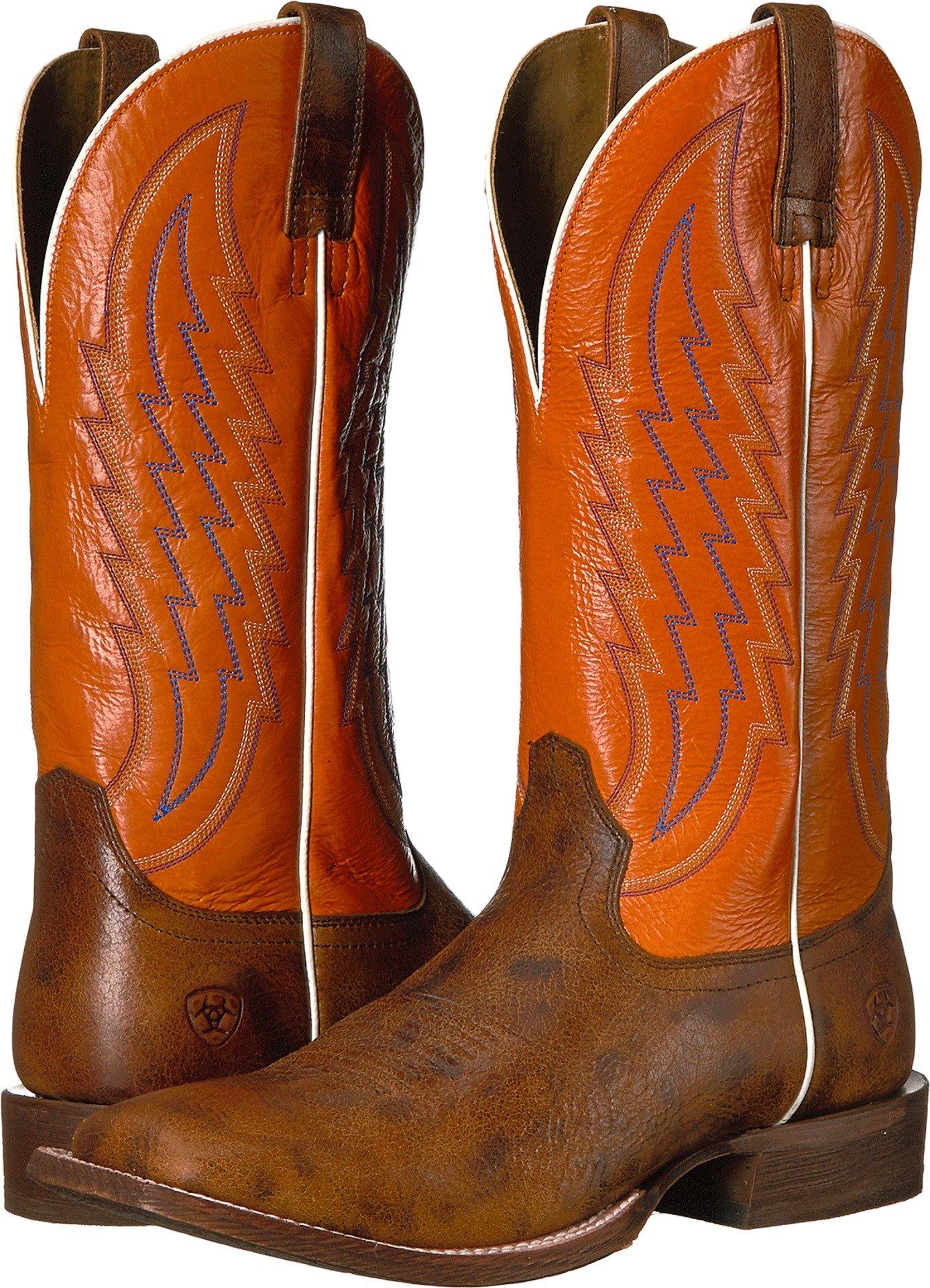 Ariat Men's Circuit Stride Western Boot Square Toe Brown 11.5 D