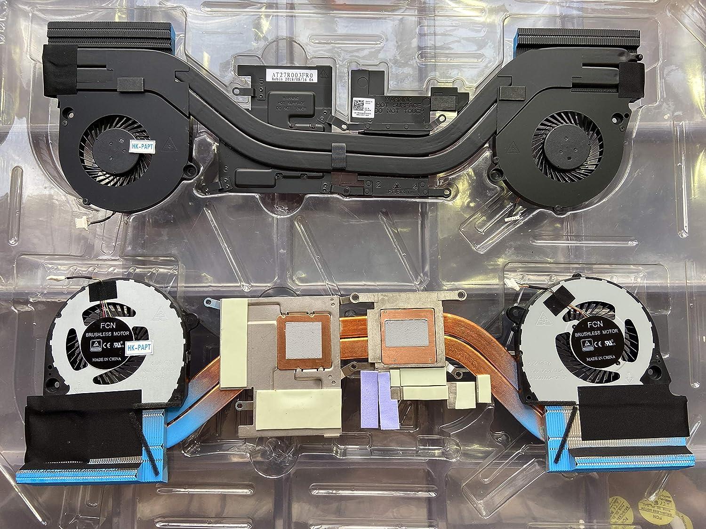 HK-Part Fan for Dell Inspiron 7588 G7-7588 Dual Cooling Fan Plus Heatsink DP/N 08VWW8 CN-08VWW8
