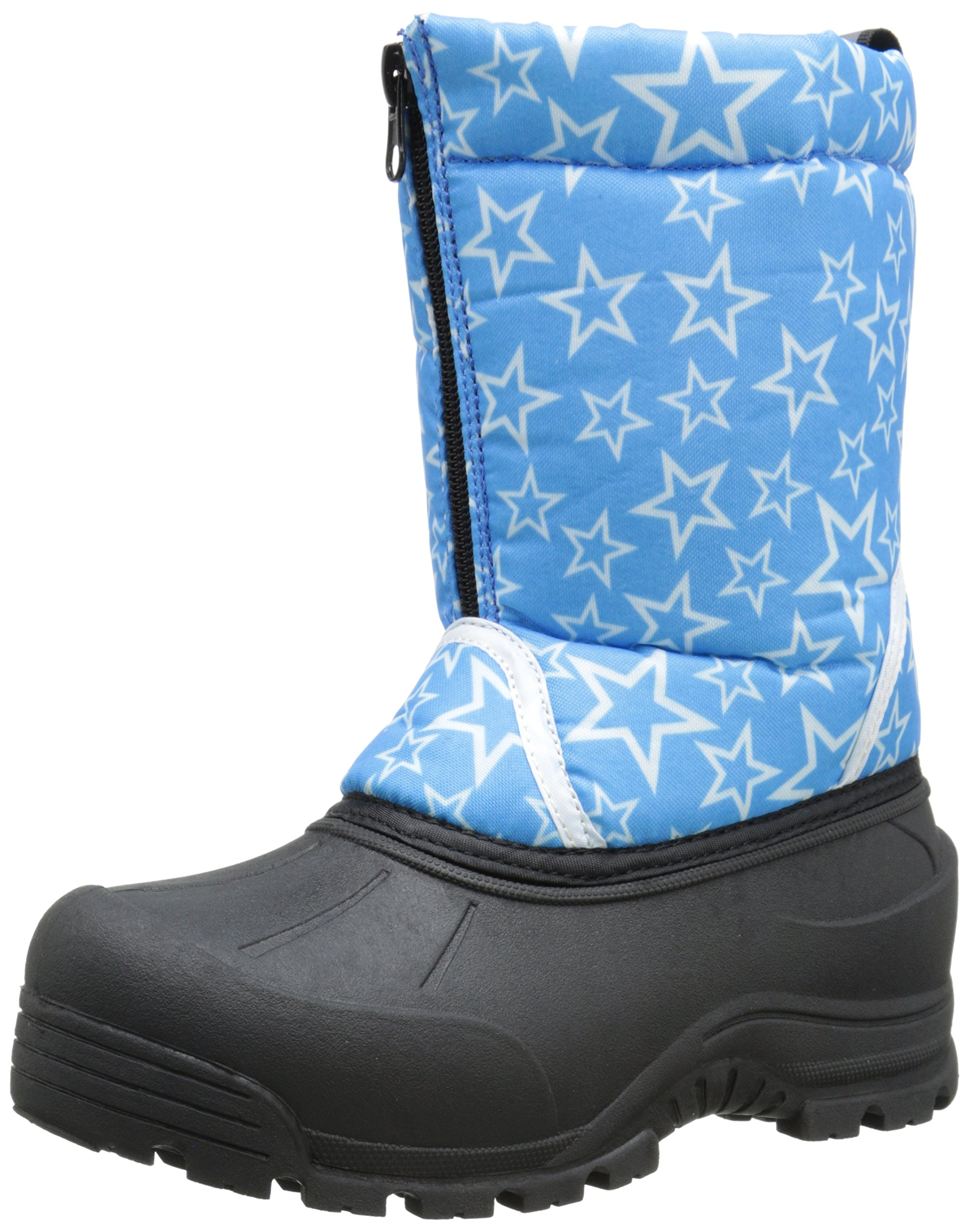 Northside Icicle Cold Weather Unisex Boot (Toddler/Little Kid/Big Kid), Turquoise/White, 2 M US Little Kid