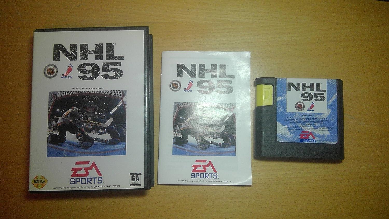 NHL '95 [E] [Sega Genesis] Unknown