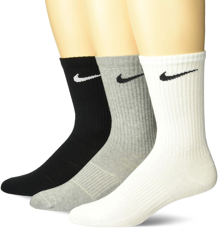 Nike Socken LIGHTWEIGHT  3er Pack Strümpfe Sportsocken  schwarz oder weis