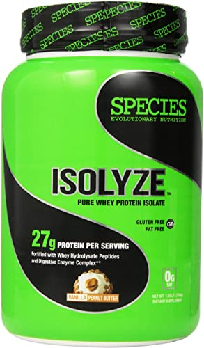 Species Nutrition Isolyze Peanut Butter Supplement