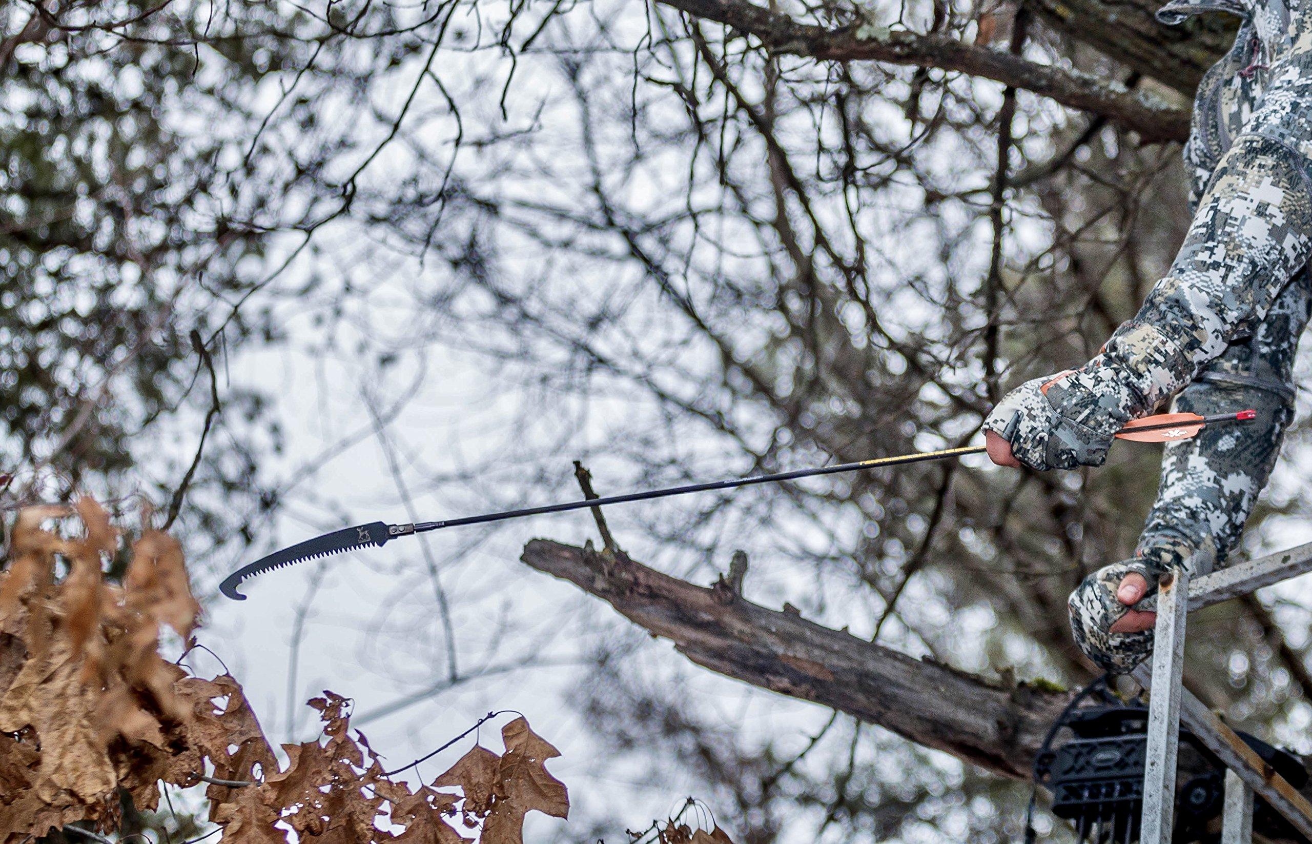 Do-All Outdoors DPAS5 Teflon Coated Arrow Saw, Black, 10.25'' x 3.75'' x 1.25''
