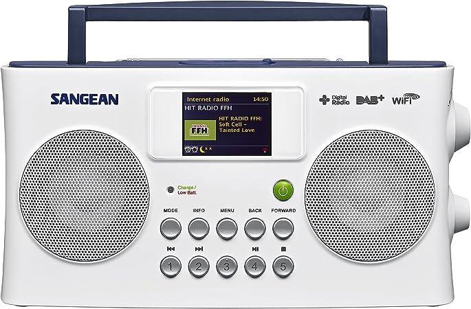 Sangean Sir 300 Internet Radio Dab Ukw Usb Weiß Elektronik