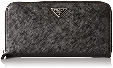 cbbe83d3b141 Image Unavailable. Image not available for. Colour: Prada Women's Saffiano Continental  Wallet ...