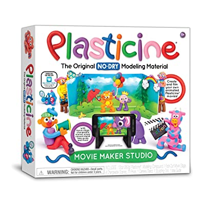 Plasticine Movie Maker Studio Toy: Toys & Games
