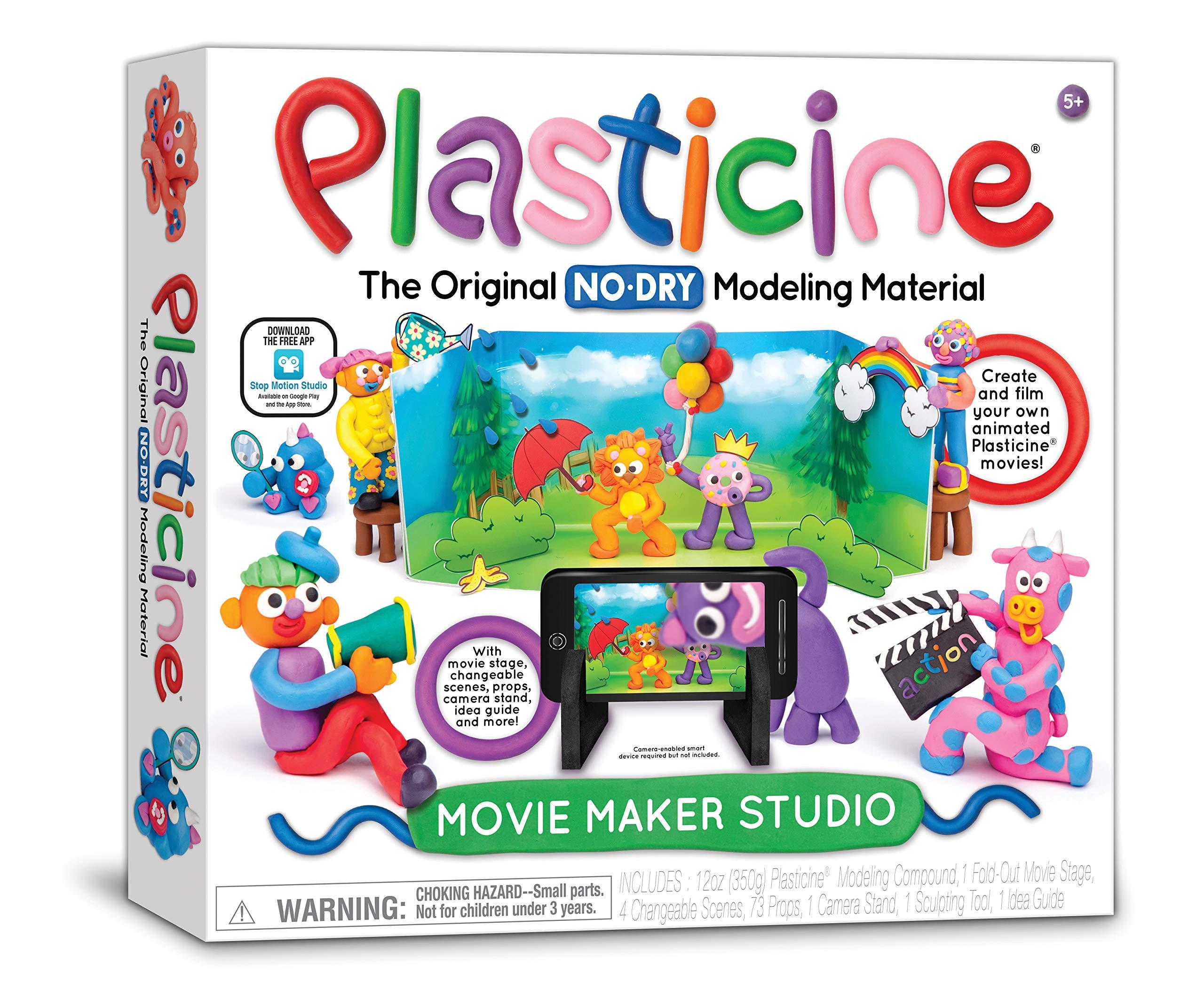 Plasticine Movie Maker Studio Toy, Multi-Colored
