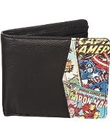 Retro Marvel Comics Outside Print Wallet