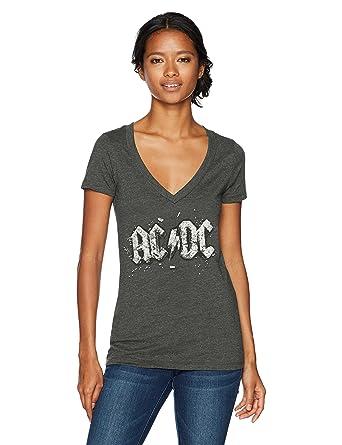 acdc model:3 WOMEN t-shirt ac dc ladies ac//dc shirt lady T-shirt for girls