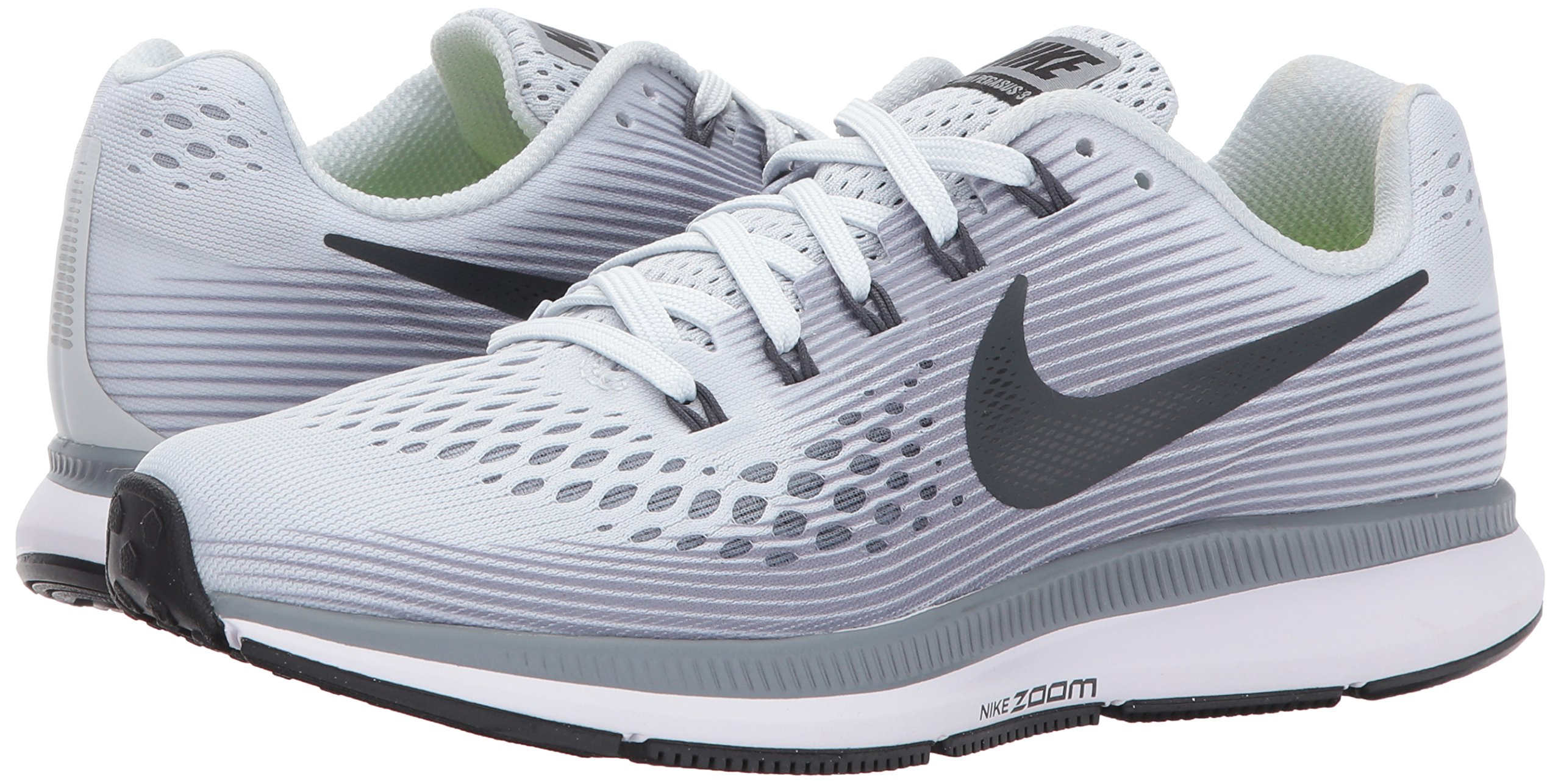 Nike Women's Air Zoom Pegasus 34 Running Shoes-Pure Plantinum/Antracite-6 by Nike (Image #6)