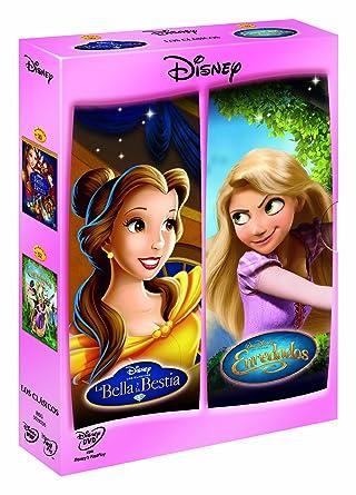 Pack Enredados + La Bella Y La Bestia [DVD]: Amazon.es: Dibujos Animados, Gary Trousdale, Kirk Wise, Dibujos Animados: Cine y Series TV