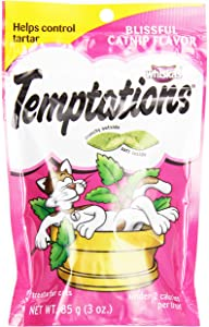 Whiskas Temptations Blissful Catnip Treats, 3 oz