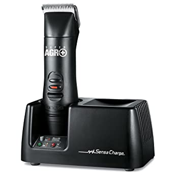 Andis Super AGR+ Rechargeable Detachable Blade Clipper, Professional Animal Grooming