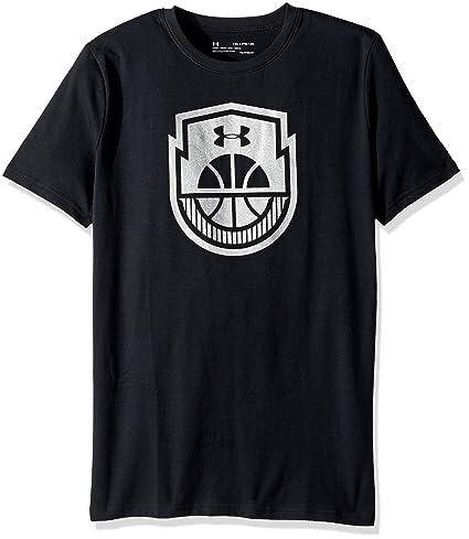 Amazon.com  Under Armour Boys  Basketball Icon T-Shirt  Sports ... b0d8dd80b