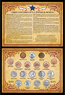 product image for Three Centuries of U.S. Pennies & Nickels