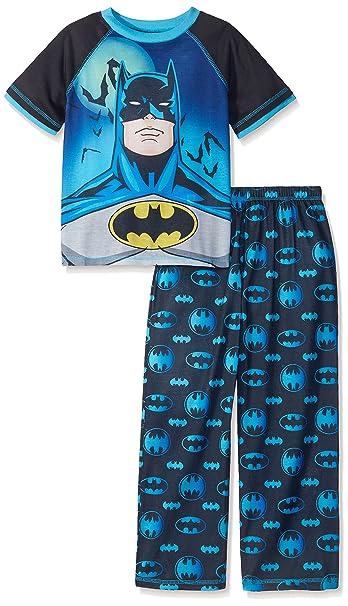 Batman - Pijama dos piezas - para niño multicolor Negro / Multi