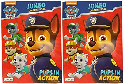 Amazon Com Set Of 2 Nickelodeon Paw Patrol Pups In Action