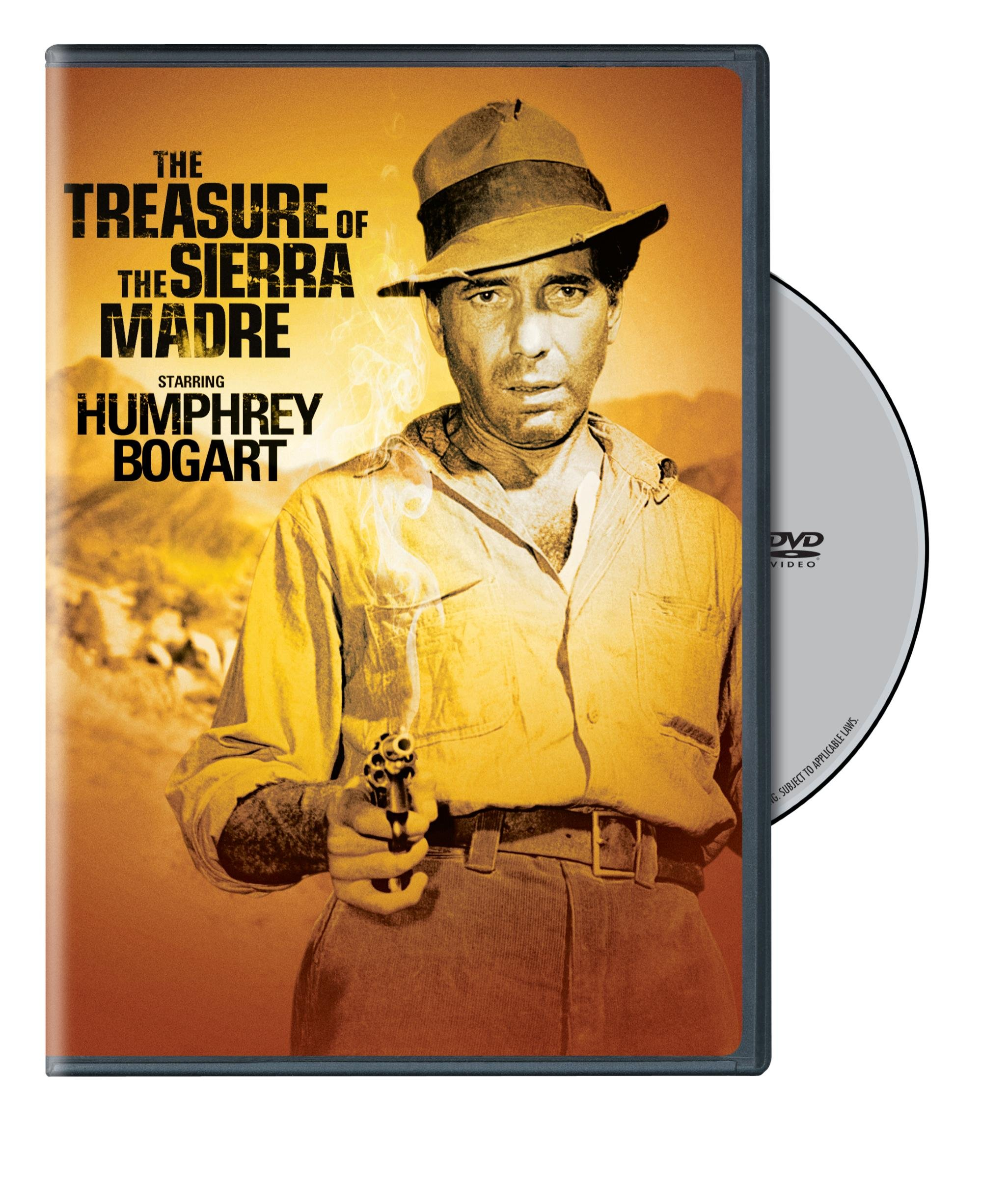 DVD : The Treasure of the Sierra Madre (Eco Amaray Case, 2 Disc)