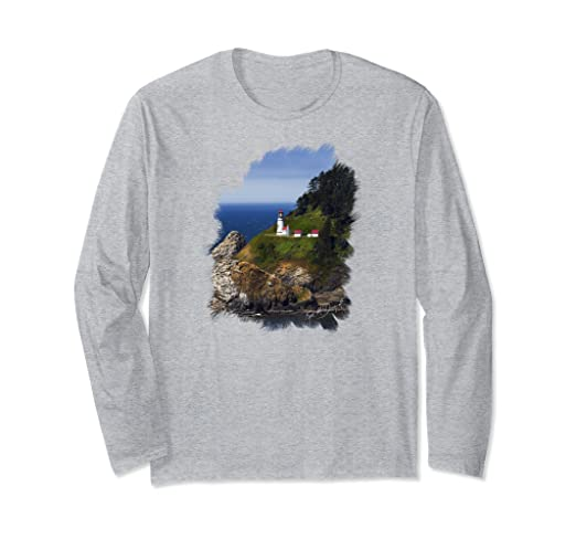 Heceta Head Long-sleeved T-Shirt