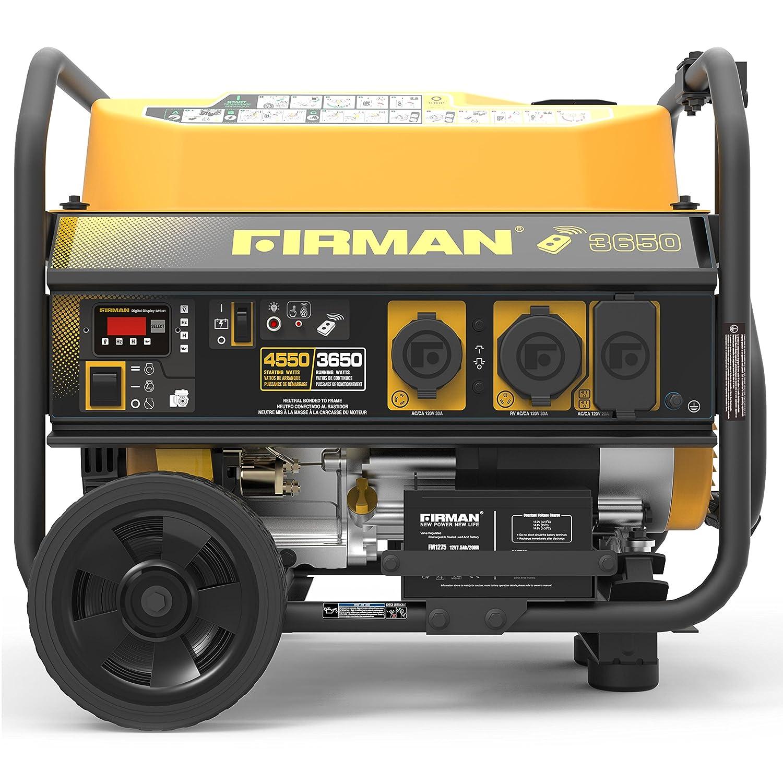 Firman generator with remote start
