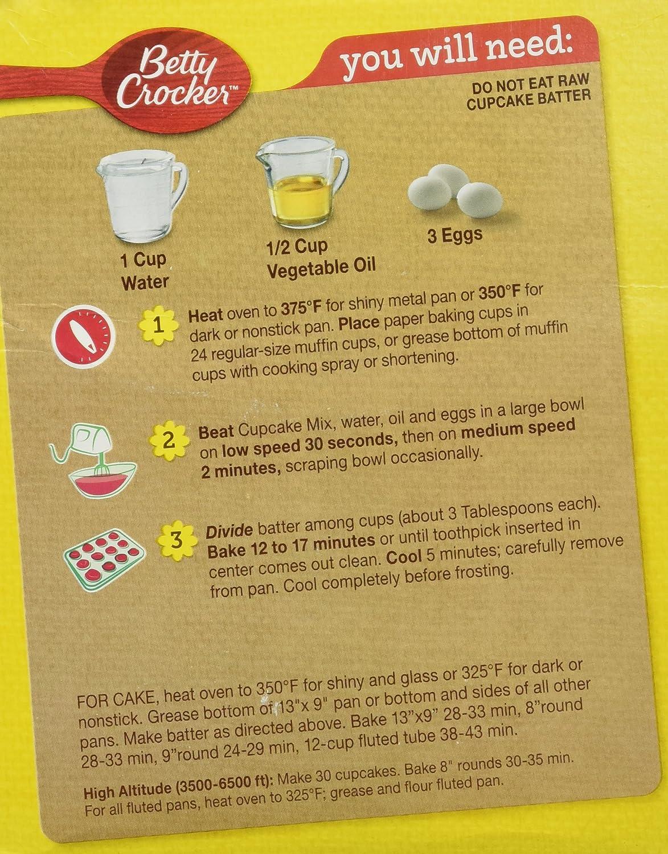 Amazoncom Betty Crocker Limited Edition Watermelon Cupcake Mix