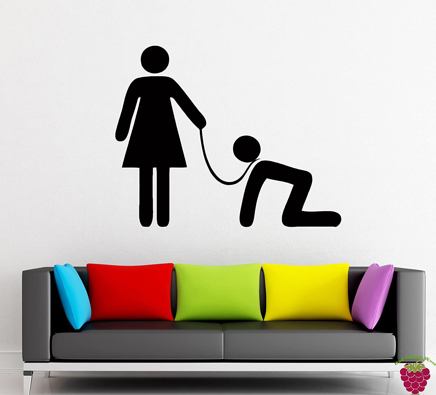 Amazon.com: Wall Stickers Vinyl Decal Funny Submissive Man Feminism Decor  (z1021i): Home U0026 Kitchen Part 76