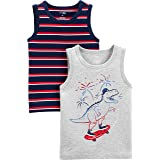 Simple Joys by Carter's Toddler Boys' 3-Pack Tank Tops