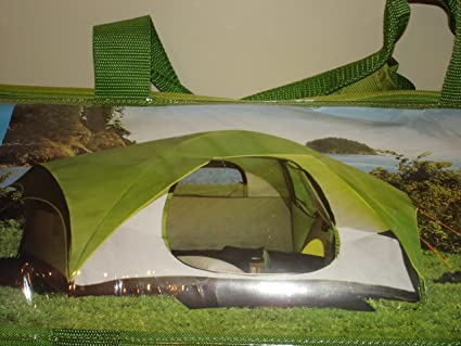 Amazon com : Greatland Dome Tent 4-6 Person - Green/White