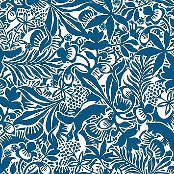Hanna Werning 1310 Papier Peint Non Tisse Motif Fleurs Et Renards