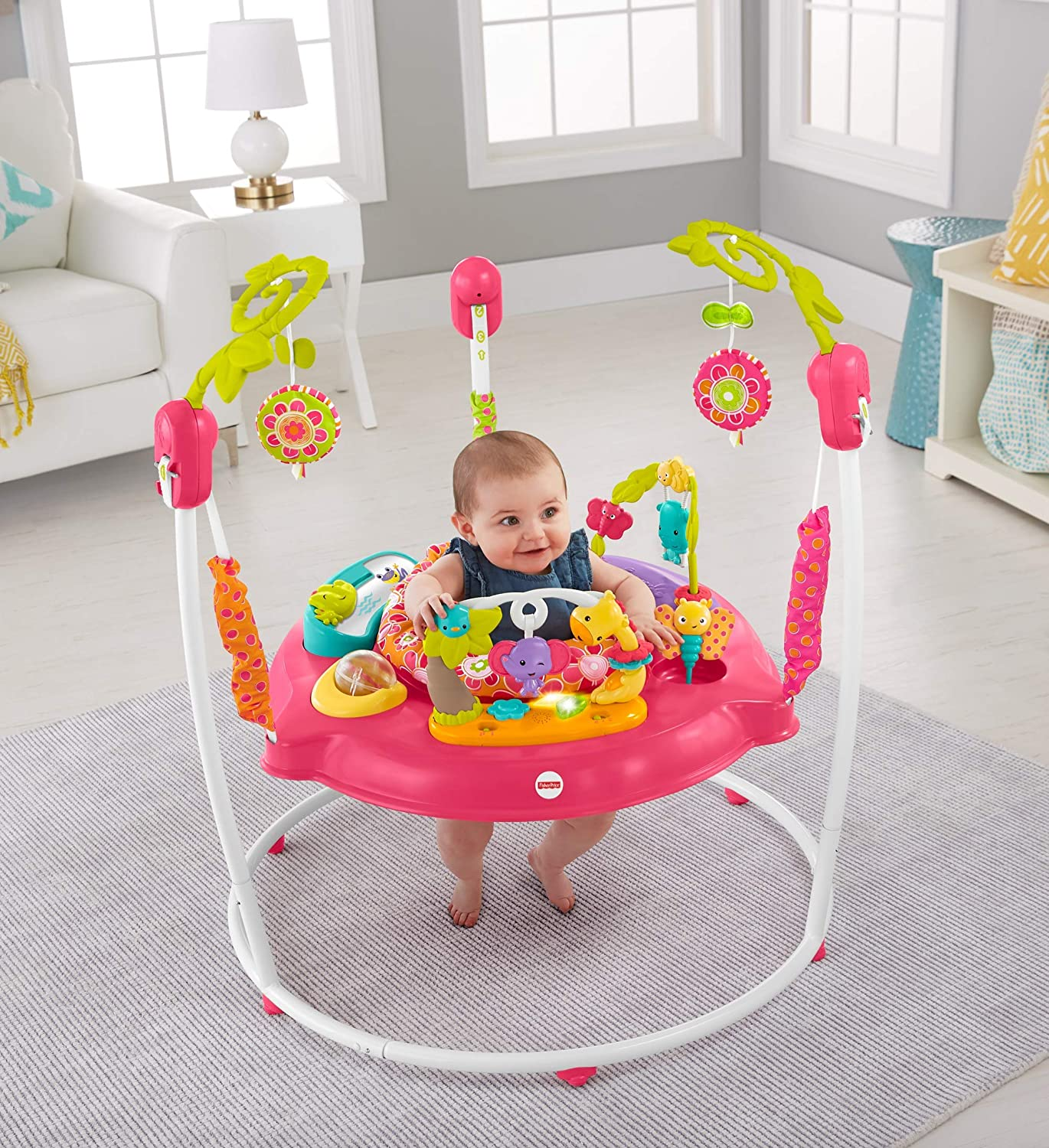 404f3e366ac8 Fisher-Price Petals Jumperoo