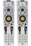 DirecTV RC66X 2 Pack - Replaces RC65, RC65X, RC66 - Works With HR20, H20, HR21, H21, HR22, H23, HR23, H24, HR24, R15…