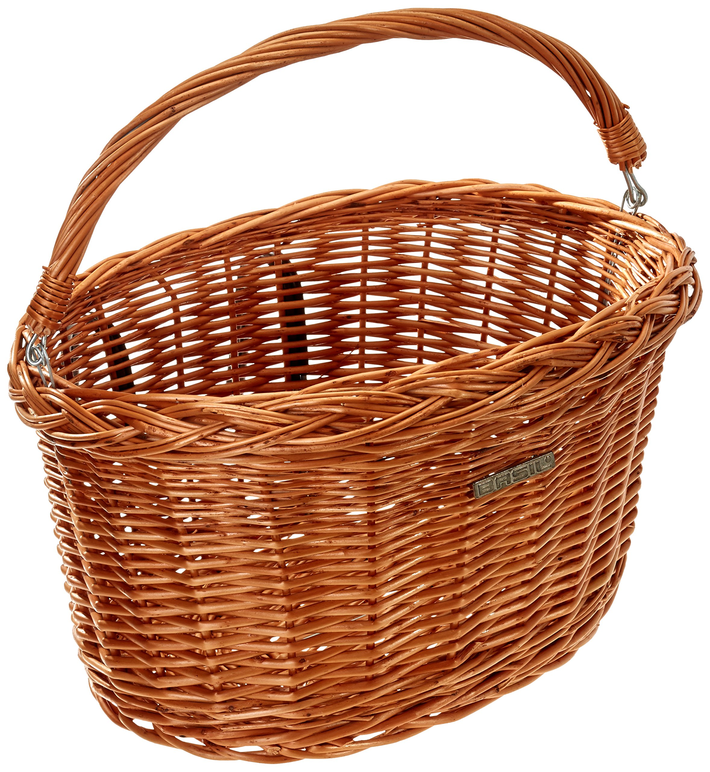 Bell Basil Detroit Wicker Oval Bicycle Basket, Natural