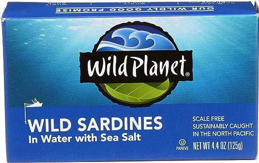 Wild Planet Wild Sardines in W...