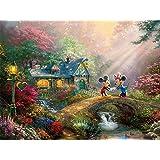 Ceaco-Rompecabezas Mickey & Minnie , 750 piezas