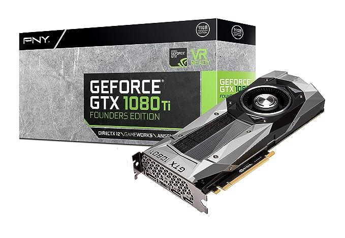 PNY VCGGTX1080T11PB-FE GeForce GTX 1080 Ti 11GB GDDR5X ...