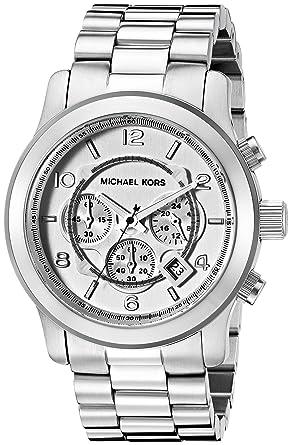 af02dc02625 Amazon.com  Michael Kors Men s Runway Silver-Tone Watch MK8086  Michael Kors   Watches