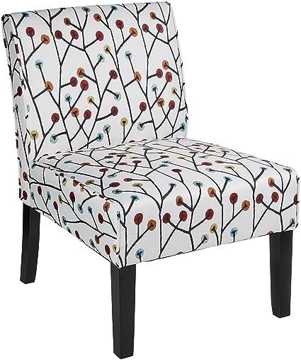Amazoncom Red Hook Furniture Martina Contemporary Armless Fabric