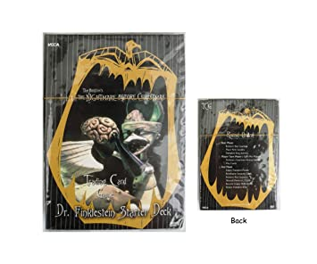 Amazon.com: Nightmare Before Christmas Trading Card Game Dr ...